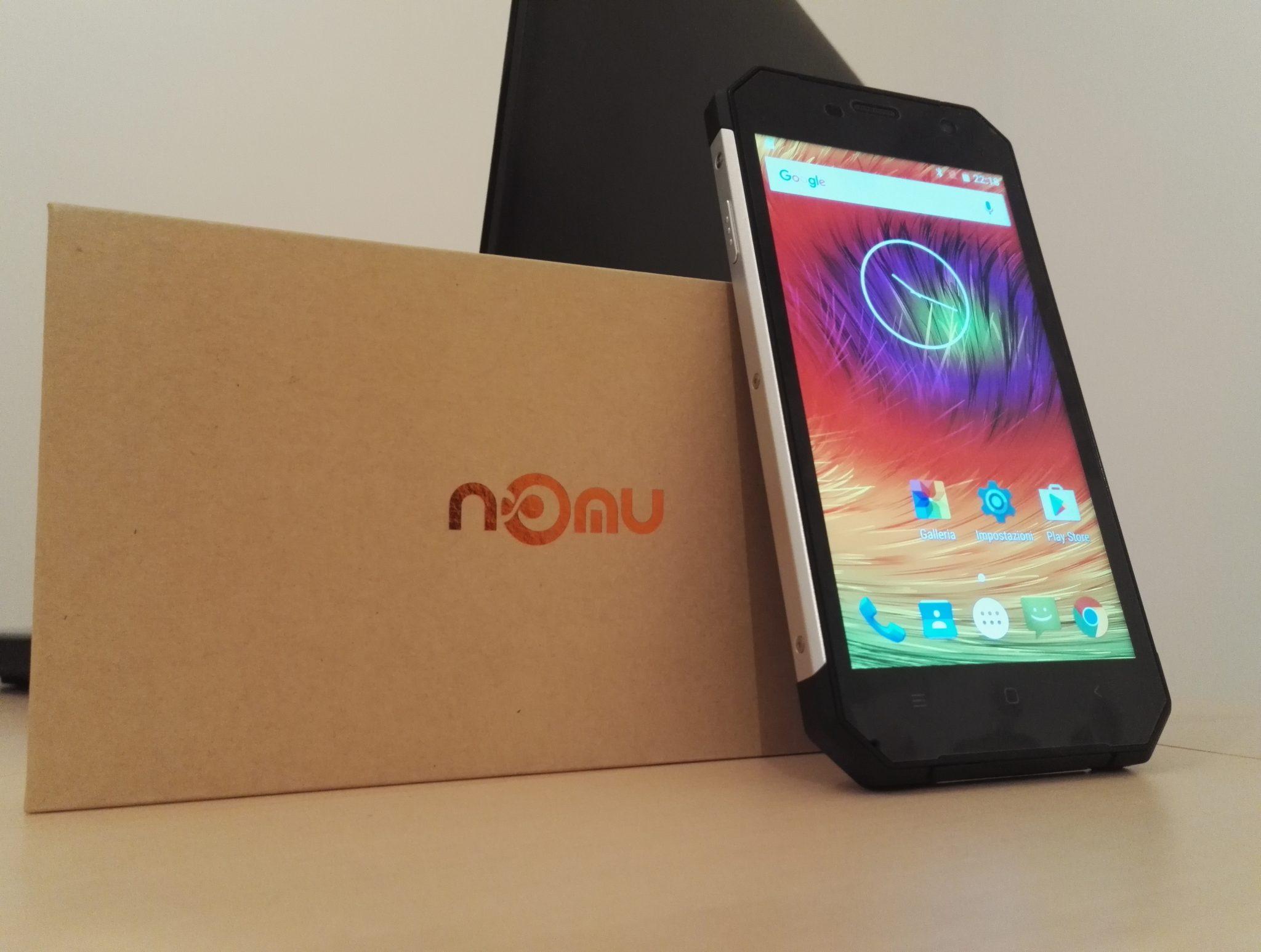 Smartphone resistente Nomu S30