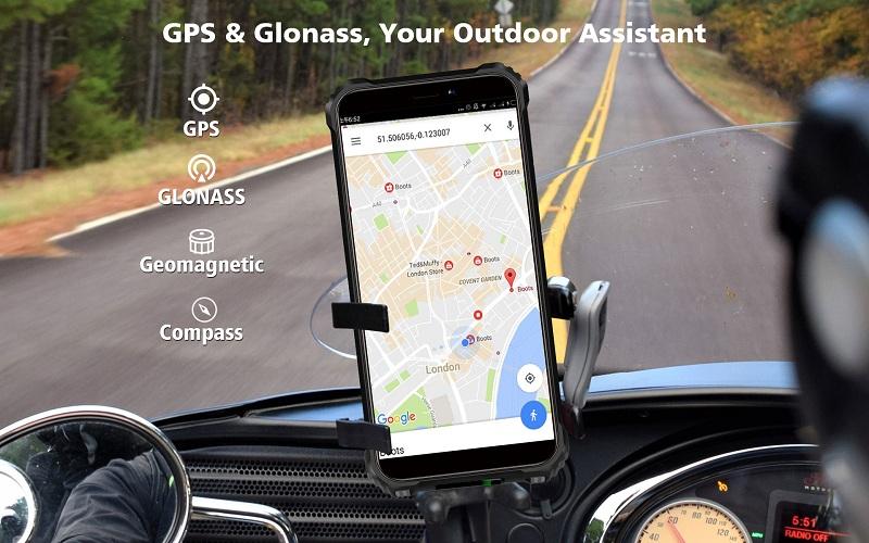 Oukitel WP5 gps glonass