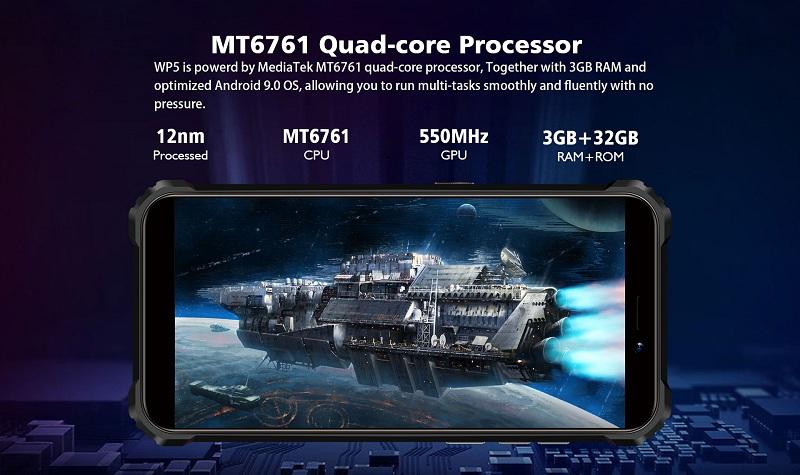 Oukitel WP5 processore