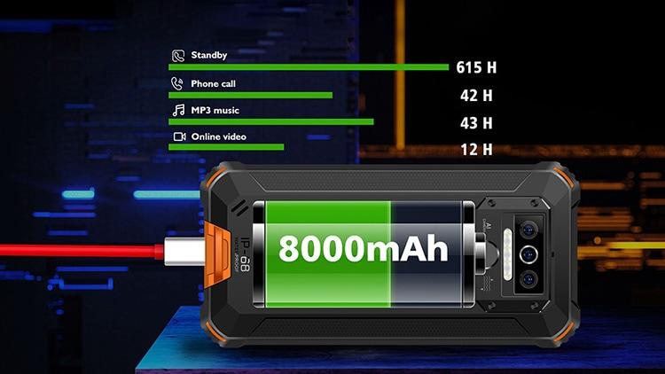 batteria oukitel wp5