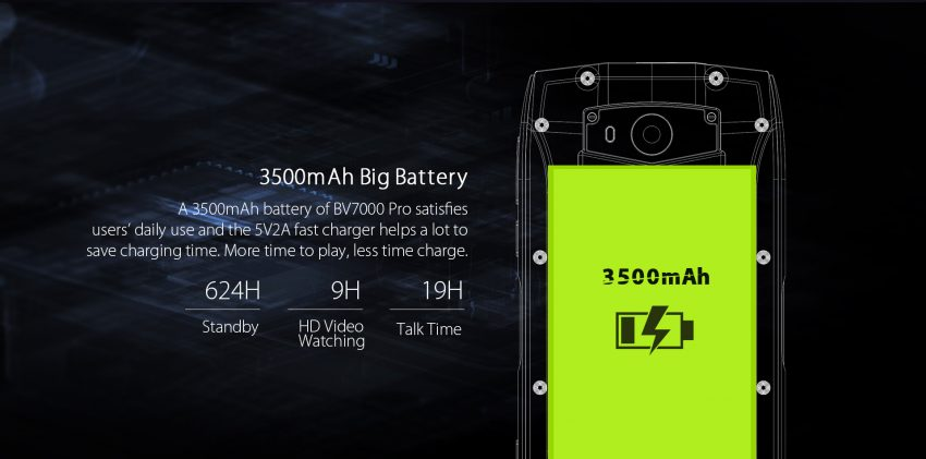 bv7000 pro batteria 1