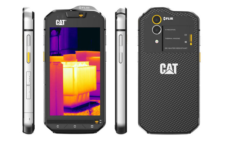 cat s60 rugged camera termica