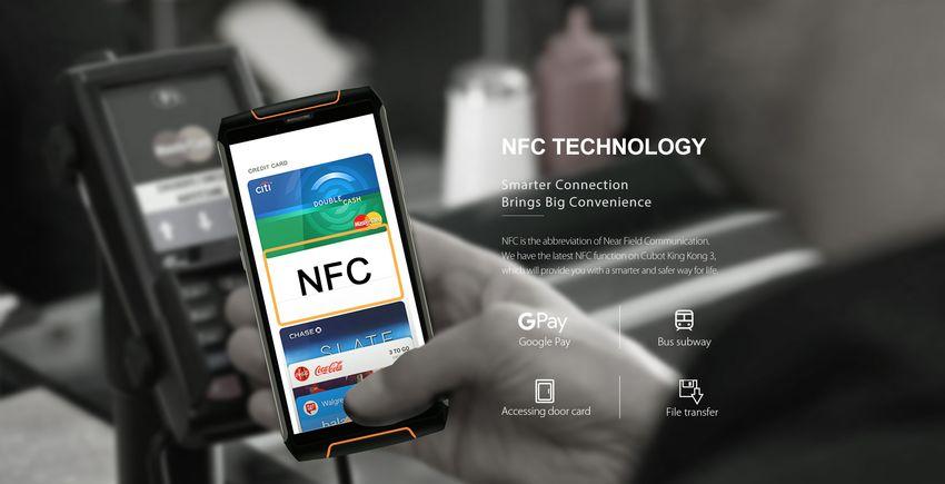 King Kong 3 è compatibile con NFC