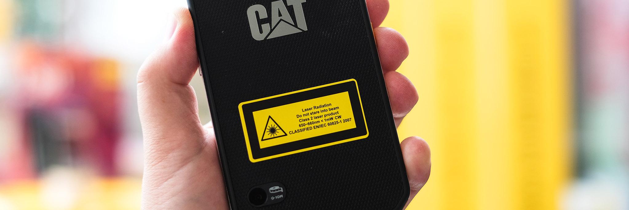 misuratore laser cat s61
