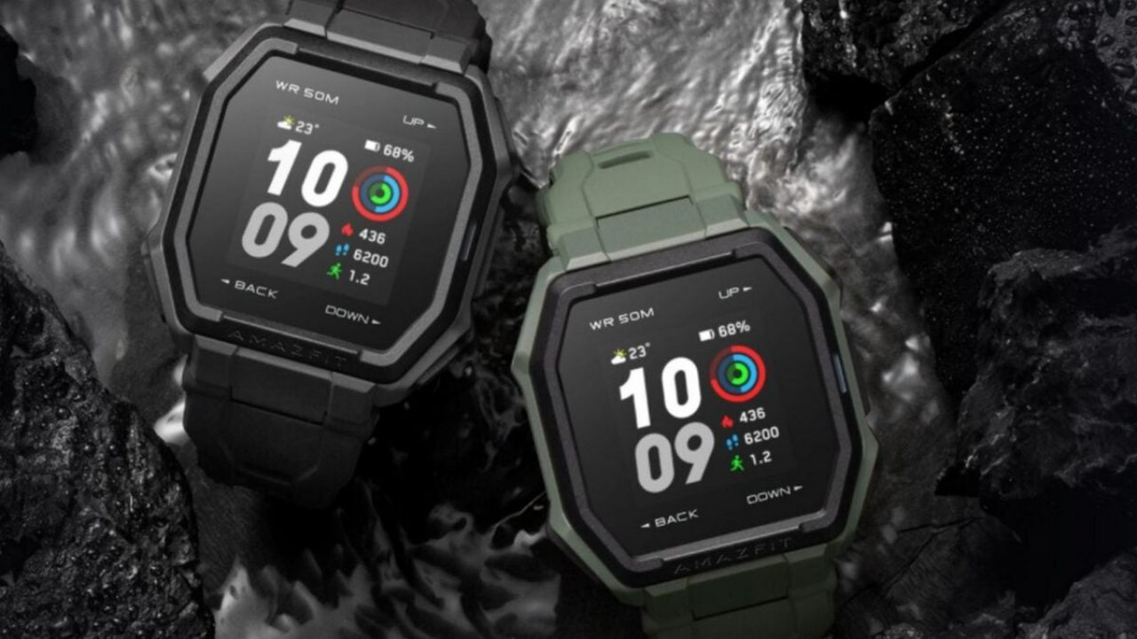 smartwatch rugged amazfit ares